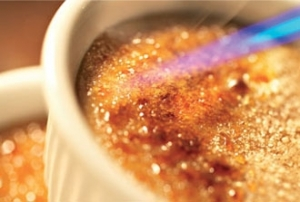 Crème brulée s kávou